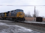 CSX 5210 westbound at Chili Jct